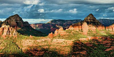 Photograph - Brins Ridge 04-044pan N by Scott McAllister