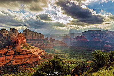 Photograph - Brins Ridge 04-053 by Scott McAllister