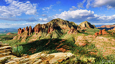 Photograph - Brins Ridge 04-099pan by Scott McAllister