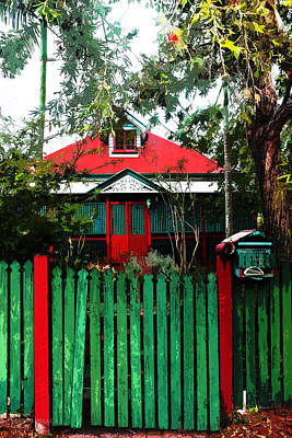 Photograph - Brisbane Queenslander by Susan Vineyard