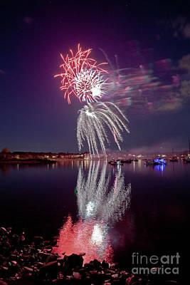 Photograph - Bristol Fireworks  #3 by Butch Lombardi