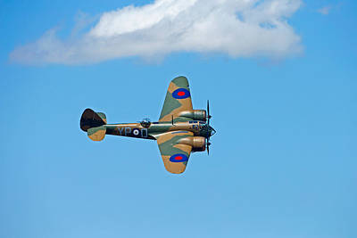 Photograph - Bristol Blenheim 1 Riat 2015 by Paul Scoullar