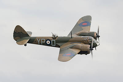 Photograph - Bristol Blenheim In Flight by Gary Eason