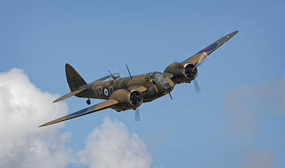 Photograph - Bristol Blenheim Mk1 by Ian Merton