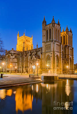 Photograph - Bristol Cathedral by Colin Rayner