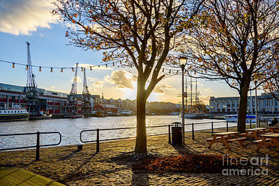 Bristol Harbour Art Print