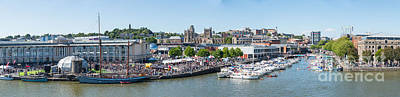 Photograph - Bristol Harbour Panorama by Colin Rayner