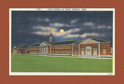 Photograph - Bristol Tennessee High School by Denise Beverly