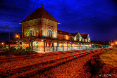 Chronos Photograph - Bristol Train Station by Andrew King