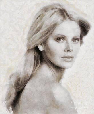 Brit Ekland, Actress Art Print