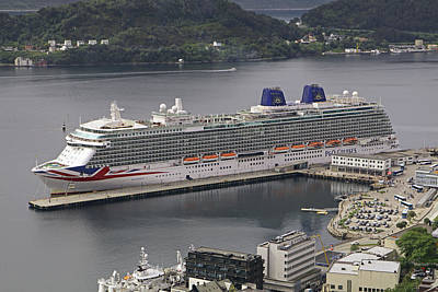 Photograph - Britannia At Alesund by Tony Murtagh