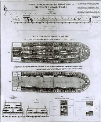 British Abolitionist Created Broadside Art Print