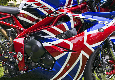Photograph - British Bike  by Tim Gainey