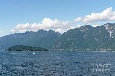Photograph - British Columbia Coast Mountains by John  Mitchell