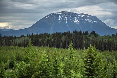 Photograph - British Columbia Mountains by Ryan Heffron