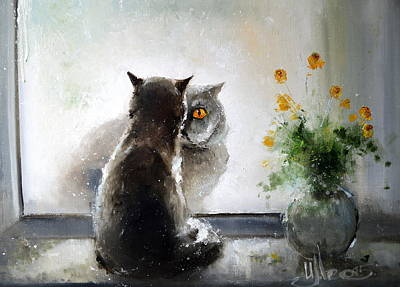 Painting - British Dating by Igor Medvedev