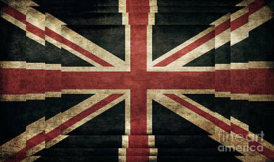 Photograph - British Flag - Union Jack by Doc Braham