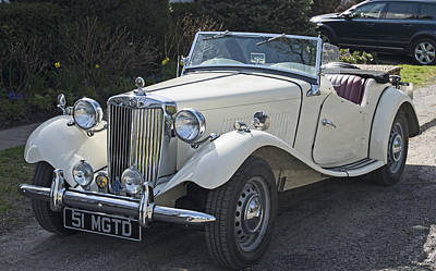 Photograph - British Mg Classic by Paul Ross