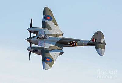 Photograph - British Mosquito Aircraft by Kevin McCarthy