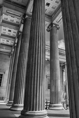 Photograph - British Museum Architecture by Georgia Fowler