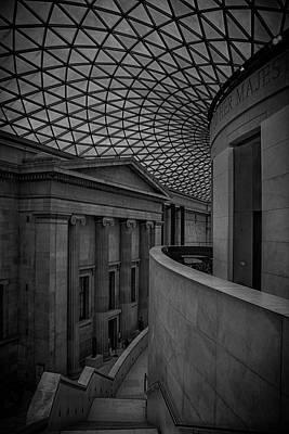 Trafalgar Photograph - British Museum by Martin Newman