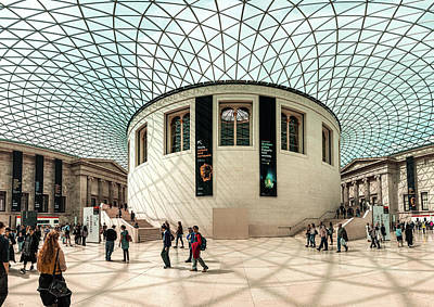 Photograph - British Museum by Matt Malloy