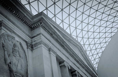 Greek Columns Digital Art - British Museum by Tony Grider