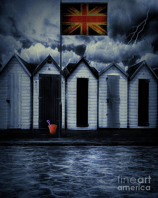 Digital Art - British Summer Time by Edmund Nagele