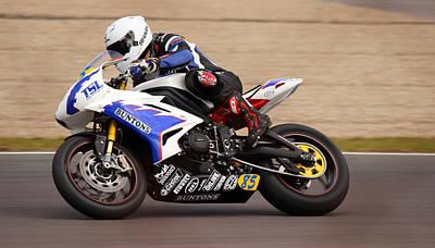 Photograph - British Superbike by David Warrington
