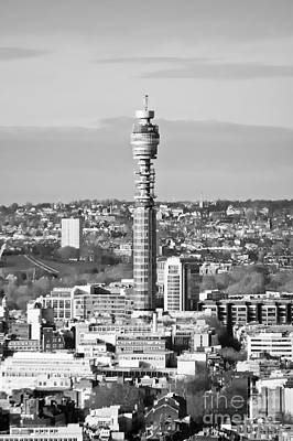 Photograph - British Telecom Tower London by Terri Waters