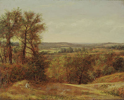 Vale Painting - British Title Dedham Vale by MotionAge Designs