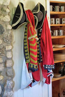 British Uniforms Art Print by Dave Mills