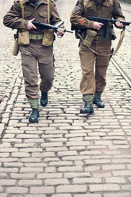 Photograph - British World War Two Commandos by Lee Avison