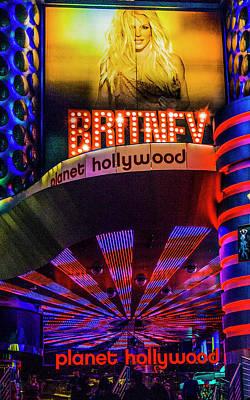 Britney Spears Photograph - Britney Spears Las Vegas by Craig David Morrison