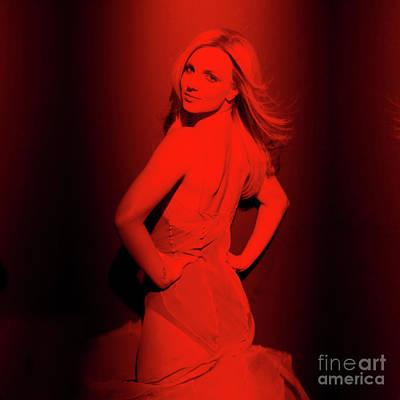 Britney Spears Photograph - Britney Spears by Mona Jain