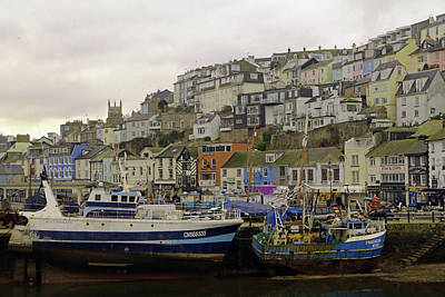 Photograph - Brixham Harbour by Tony Murtagh