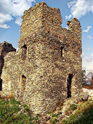 Photograph - Brnicko Castle by Anthony Dezenzio