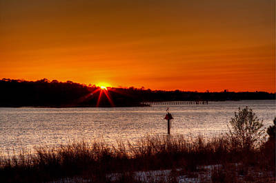 Photograph - Broad Bay Sunset II by Pete Federico