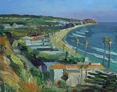 Malibu Painting - Broad Beach Malibu by John Kilduff