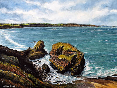 Painting - Broad Haven by Andrew Read
