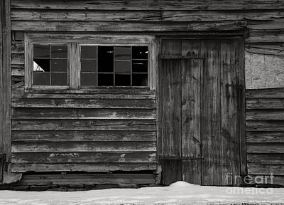 Photograph - Broad Side Of A Barn II by Debra Fedchin