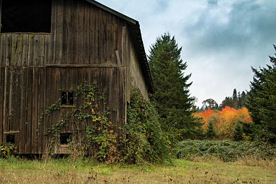 Photograph - Broad Side Of The Barn by Jean Noren