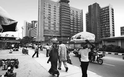 Photograph - Broad Street -- Fmbn by Muyiwa OSIFUYE