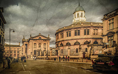 Photograph - Oxford, England - Broad Street by Mark Forte