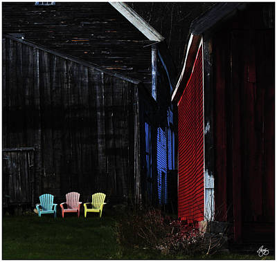 Photograph - Broadacres Farm Colors by Wayne King