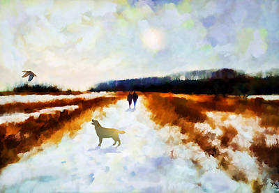Painting - Broadland Walk by Valerie Anne Kelly