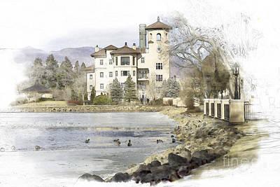 Broadmoor Photograph - Broadmoor Hotel by Nancy Forehand Photography