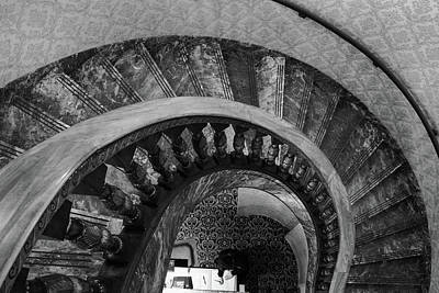 Photograph - Broadmoor Hotel Spiral Staircase by John McArthur