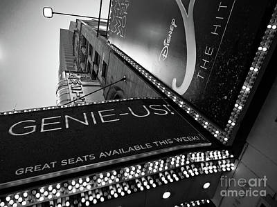 Broadway  -27868-bw Art Print