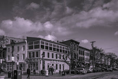 Fells Point Baltimore Maryland Photograph - Broadway And Thames Sts. by Jim Archer